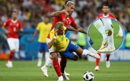 """Đêm ác mộng của Neymar: Bị đối thủ """"chém"""" 10 lần, đến tất cũng rách bươm"""