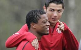 """Evra: """"Chạy ngay đi"""" nếu Ronaldo mời về nhà ăn trưa"""