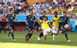 Những con số khó tin sau cuộc chiến giữa Colombia vs Nhật Bản