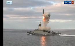 Nga hạ thủy chiến hạm mới nhất, cho tham gia tập trận ở Syria