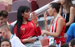 Đến sân cổ vũ Ronaldo, Georgina tự hào khoe nhẫn kim cương giá 18 tỉ