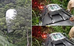 Vật thể lạ chứa máy quay rơi xuống rừng ở Hà Giang có phải thiết bị ngành khí tượng thủy văn không?