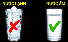 """Uống nước đá ngày nóng làm mát cơ thể: """"Sướng một chốc, hại lâu dài"""""""