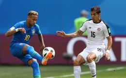 TRỰC TIẾP Brazil 0-0 Costa Rica: Bóng chạm xà ngang khung thành Costa Rica