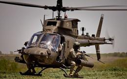 Ảnh: Trực thăng Mỹ hỗ trợ binh sĩ trong các đợt tập trận, huấn luyện