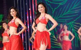 Chung khảo phía Nam Hoa hậu Việt Nam: 30 thí sinh khoe sắc, nóng bỏng với bikini