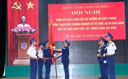 Công bố Quyết định về tổ chức lại và ban hành biểu tổ chức biên chế lực lượng Cảnh sát biển