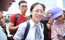 Thí sinh phấn khởi nói đề thi Ngữ văn THPT Quốc gia 2018 không quá khó