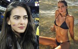 """Cổ động viên đẹp nhất World Cup 2018 khiến dân mạng """"điên đảo"""": Ngoài đời vô cùng bốc lửa!"""