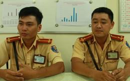 CSGT chở em bé đi cấp cứu, cho bú sữa bình ở Sài Gòn từng tham gia bắt cướp