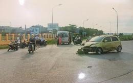 CSGT dùng xe đặc chủng đưa nạn nhân gặp tai nạn đi cấp cứu
