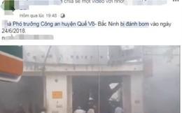 Truy tìm kẻ tung tin nhà Phó trưởng Công an huyện Quế Võ bị đánh bom