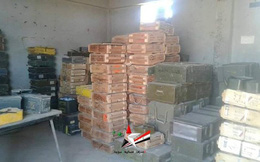 Quân đội Syria thu chiến lợi phẩm 1 bệnh viện quân sự dã chiến, kho vũ khí ở đông bắc Daraa