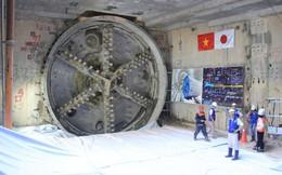 Robot khoan xong đường hầm metro thứ 2 ở Sài Gòn