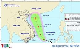 Áp thấp nhiệt đới trên Biển Đông: Rủi ro thiên tai cấp độ 3