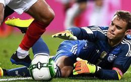 Neuer tái xuất sau gần 1 năm, Đức vẫn bất ngờ bại trận