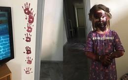 Để con tự chơi trong nhà 15 phút, bà mẹ mất 3 năm để xóa sạch dấu tay con in lên khắp nhà