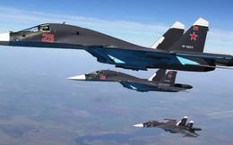 """Tung hoành ở Syria, """"thú mỏ vịt"""" Su-34 Nga là cỗ máy tấn công sấm sét nhất thế giới"""