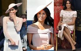 Theo chuyên gia tâm lý đây là nguyên do Meghan liên tục chọn mặc màu hồng nhạt từ khi trở thành nàng dâu hoàng gia