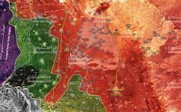 Tên lửa, pháo binh Syria dội lửa ác liệt chiến tuyến quân thánh chiến