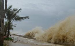 Áp thấp nhiệt đới tiến gần bờ, vùng biển Đà Nẵng gió giật cấp 8