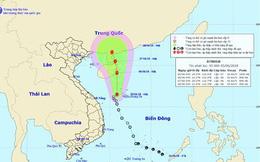 Thông tin mới nhất về áp thấp nhiệt đới trên Biển Đông