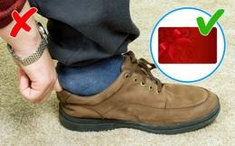 [PHOTO STORY] 9 mẹo cực hay, ai đi giày cũng nên biết