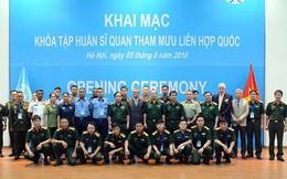 Cục gìn giữ hòa bình Việt Nam khai mạc Khóa tập huấn sĩ quan tham mưu Liên hợp quốc
