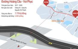 Hà Nội sắp khởi công tuyến đường 3,5 tỷ đồng/m