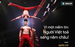 """QUỐC CƠ - QUỐC NGHIỆP: """"Kiên quyết không diễn trên phông nền Trung Quốc vì tới Anh để quảng bá Việt Nam"""""""