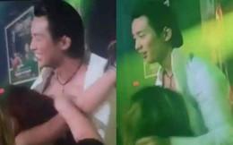 Đan Nguyên bị fan nữ cởi áo, ôm hôn táo bạo trong lúc biểu diễn