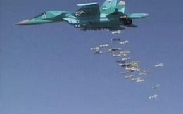 """Video: Dàn tiêm kích Su-34 Nga """"thổi tung"""" loạt căn cứ quân nổi dậy Syria ở Aleppo"""