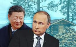 """""""Quà độc"""" ông Putin tặng ông Tập Cận Bình khi tới Trung Quốc: Nhà tắm hơi kiểu Nga"""