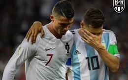 """Messi """"lười nhác"""" nhưng nguy hiểm, Ronaldo chỉ """"tỏa sáng"""" với chuyện ngoài lề"""