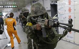 Hàn Quốc vẫn tập trận riêng trong quá trình đối thoại với Triều Tiên