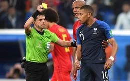 """World Cup 2018: Chỉ vài giây làm trò, cả một trận đấu rực sáng của Mbappe bị """"bôi đen"""""""