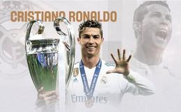 Bảng thành tích triệu người mơ ước của Ronaldo trong màu áo Real Madrid