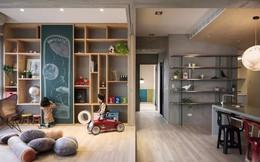 Căn hộ đơn sắc nhưng lấp lánh màu hạnh phúc dành cho gia đình có con nhỏ ở Nhật Bản