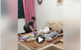 """Đoạn clip ngắn """"đắp chăn cho con dâu"""" khiến 500 chị em được truyền thêm động lực để sống chung với mẹ chồng"""