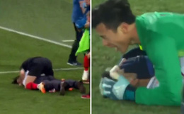 """World Cup 2018: Ngôi sao Croatia tái hiện màn ăn mừng kiểu """"Hà Đức Chinh - Bùi Tiến Dũng"""""""