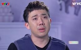 Trấn Thành xúc động nói về cha trên truyền hình, bật khóc như trẻ con