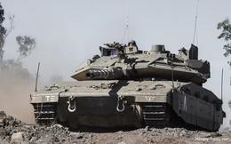 """Ảnh: Sức mạnh """"vua tăng"""" Merkava Mk-4 của quân đội Israel"""