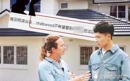 """Bị cộng đồng Hoa Kiều chỉ trích đuổi khỏi Úc, sao nam """"Mị Nguyệt Truyện"""" xấu hổ rời khỏi biệt thự đắt đỏ"""