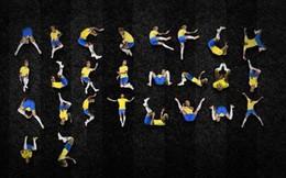 Bộ chữ cái từ A đến Z về 26 thế ăn vạ của Neymar