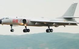 Máy bay ném bom H-6K Trung Quốc dự Hội thao quân sự ở Nga