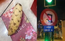 Biển báo gây hoang mang nhất vịnh Bắc Bộ, chuối Gucci gây 'sốt' trên mạng xã hội
