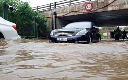 Nhiều chung cư phía Nam Hà Nội ngập vì mưa lớn