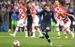 """Copy mánh phạt góc """"dị"""" của Tam sư, Pháp có ngay bàn thắng từ chấm phạt đền"""