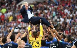 """HLV Deschamps: """"Lễ đăng quang này thật tuyệt đỉnh, chúng tôi tự hào là những người Pháp!"""""""