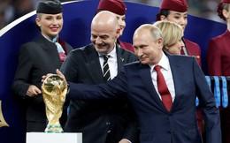Tự hào về World Cup 2018, Tổng thống Putin